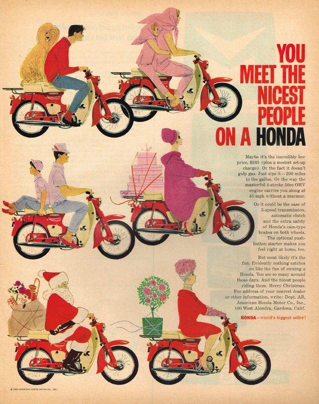 Världens vanligaste motorfordon är Hondas Super Cub, moppen som tillverkats sedan 1958!
