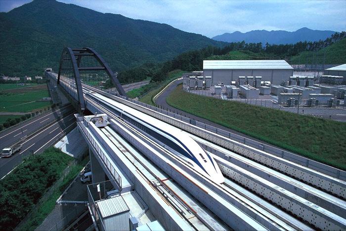 500 knyck med tåget kommer att göra det svårare för flyget att konkurrera på avstånd upp till 100 mil i Japan.