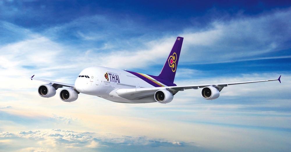 Thai Airways Airbus 380 på väg mot Tokyo. Resandet mellan Thailand och Japan växer så det knakar och det kommer nu fler och billigare flyg.