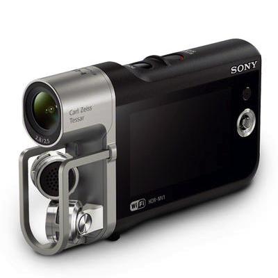 Sony har kommit in i ett nytt innovativare skede, verkar det som. Det regnar nya, intressanta produkter på sistone. Här en videokamera med ovanligt god ljudupptagning, kanske mest för dig som spelar in musikvideos.