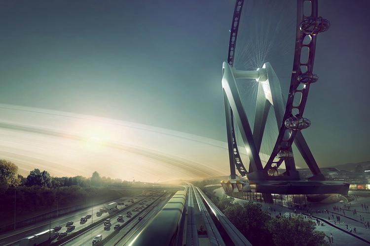I designstadiet återfinns Nippon Moon, världens största pariserhjul, som nu planeras uppföras någonstans i Japan.