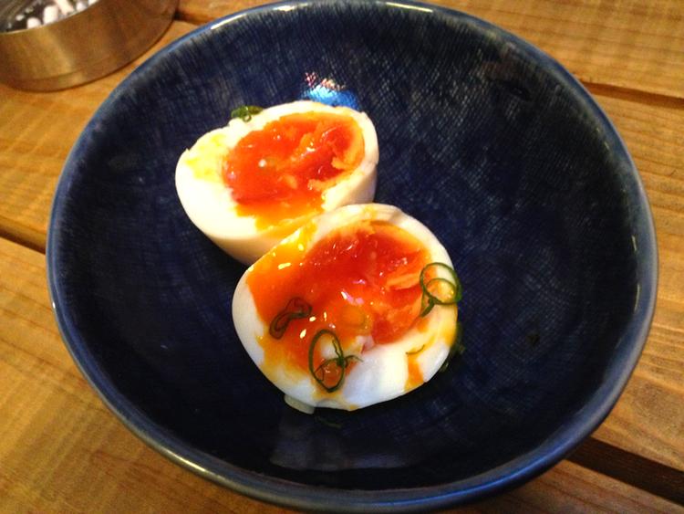 """Gulan borde heta """"rödan"""" när det gäller vissa ägg i Japan."""