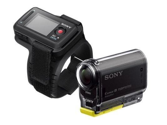 """Sätt fast kameran någonstans på din kropp och smäll ihop en """"action video"""" när du vill."""