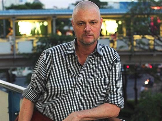 Sveriges bästa murvel i Sydostasien - Janne Källman.  Har jag nämnt att du har några beundrarinnor här i Tokyo som vill träffa dig, förresten?