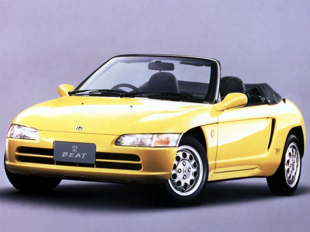 Honda hade en liknande modell på 90-talet - Honda Beat. Turbomatad mittmotor!