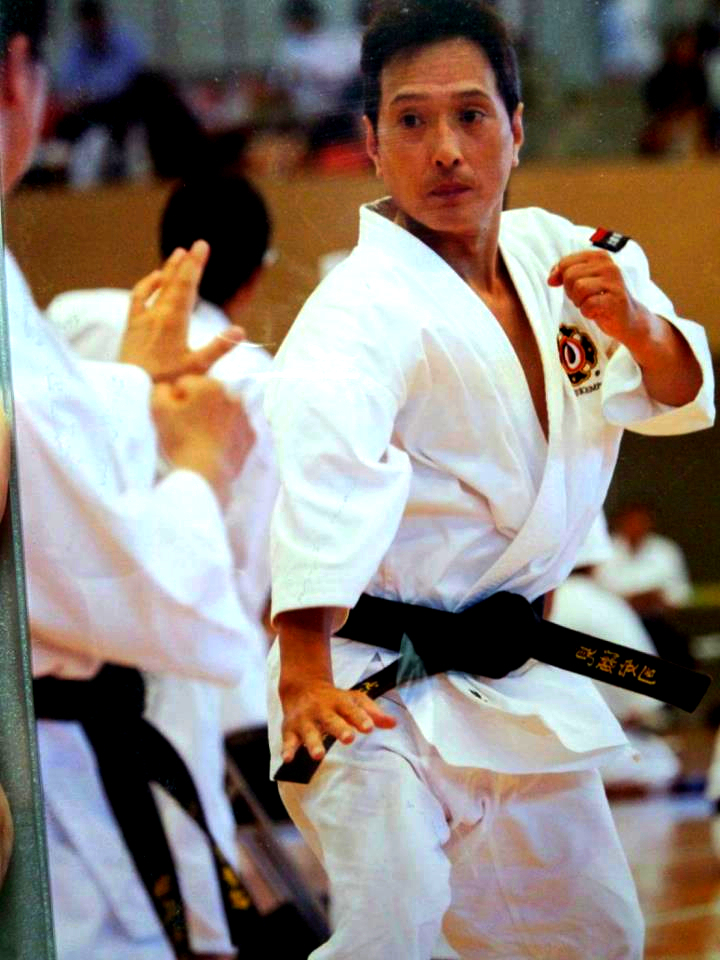 Min svåger håller sig ung och alert med hjälp av Shorinji Kenpo.