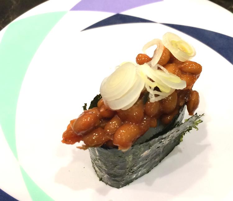 Natto-kimchi, en blandning av två jästa klassiker från Japan respektive Korea. En av mina favoriter..