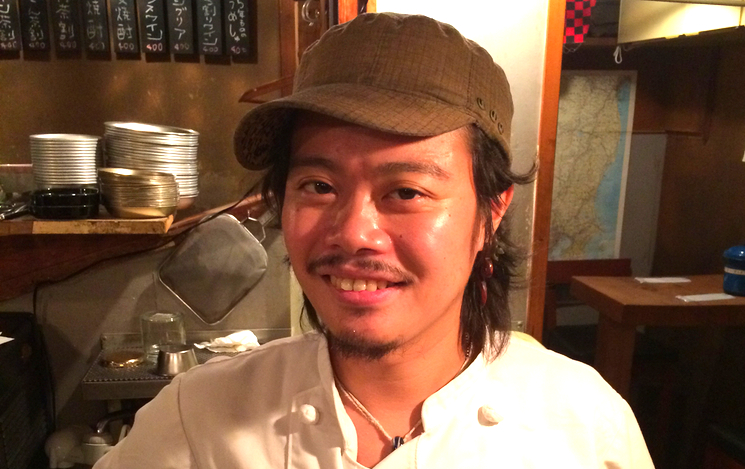 """Itsuka heter denne konstant glade man. Av hans pappa, som också är krögare, fick jag veta att sonen fick namnet  Itsuka , vilket kan betyda """"någon gång"""", för att """"någon gång kommer han att bli något stort""""!"""