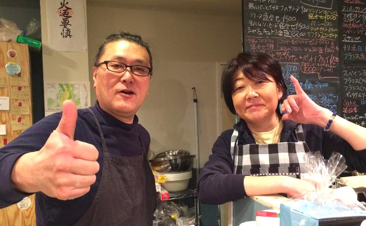 Shiozaki-san och hans assistent Saki-chan leverar smakrik fransk husmanskost några minuter utanför Tokyos västra stadsgräns.