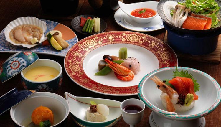 Här ett exempel på hur riktigt klassisk japansk mat kan se ut.  Foto: Tsuruga Group