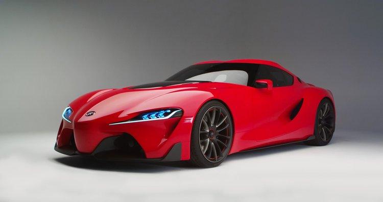 Toyota FT-1 är bara ett koncept än så länge, men den ger en förhandsbild av ett nytt Toyota som vill bygga sexigare bilar framledes.