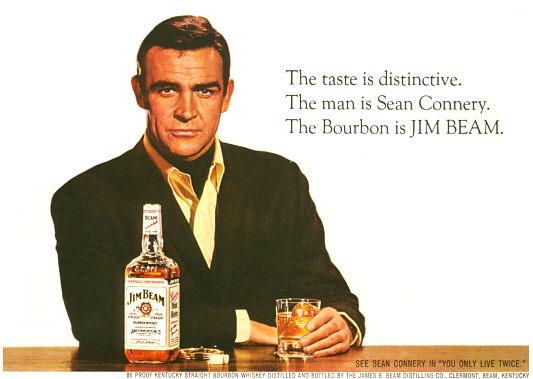 Skotten som gjort reklam för både bourbon och japansk whiskey!