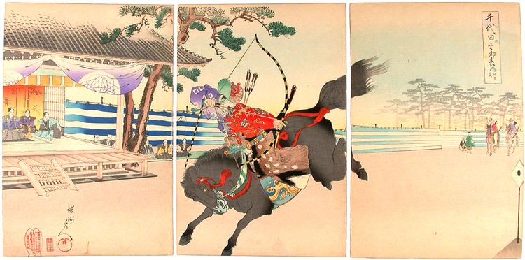 Japanbloggen är redan ettåring. Tiden flyger som en pil, även nu i Hästens år!