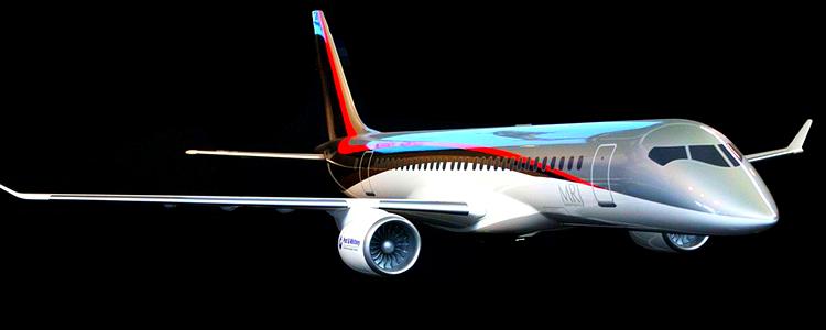 Mitsubishi Regional Jet blir Japans första massproducerade flygplan på nästan 70 år. Bild: Wikimedia Commons