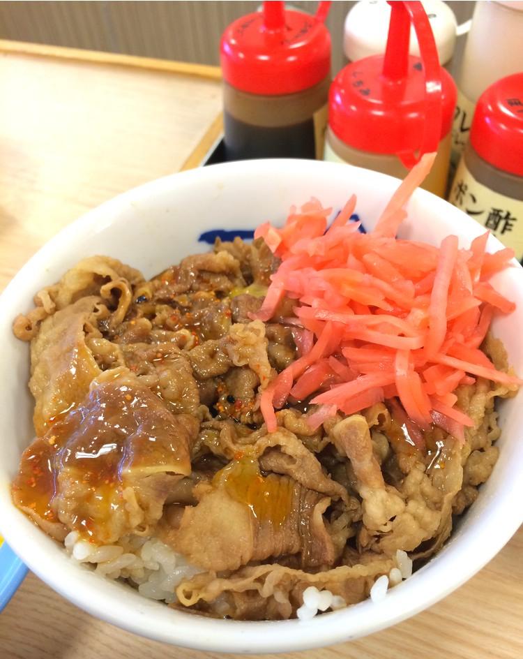 Gyudon är en mycket vanlig snabbmatsrätt i Japan. Gott, snabbt, billigt!