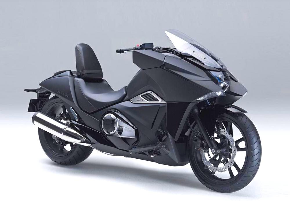 Hondas NM4 ser både futuristisk och kanske framför allt bekväm ut.