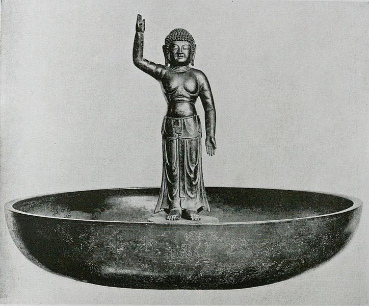Budda vinkar från sitt Nirvana och tackar för tårtan!  Foto: Wikimedia Commons