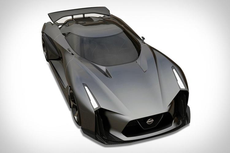 Nissans senaste sportbil finns än så länge bara i ett dataspel..