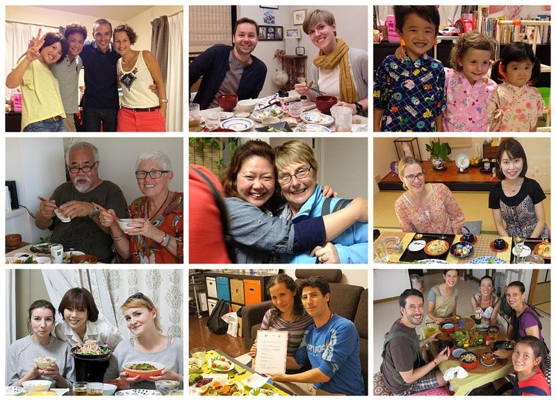 Nagomi Visit är en tjänst som förmedlar ett tillfälle att få besöka ett japanskt hem och äta hemlagad mat.  Foto: Nagomi Visit
