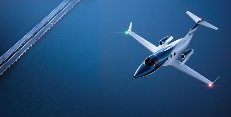 HondaJet börjar nu tillverkas för leveranser under 2015  Foto: HondaJet