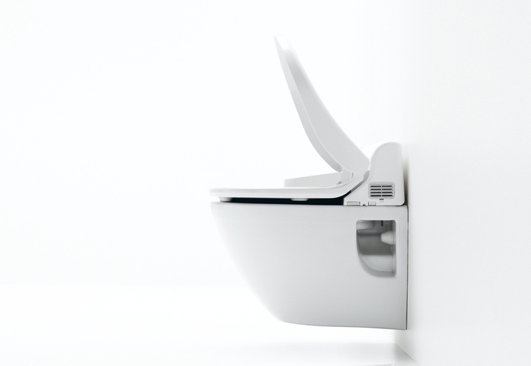 Washlets, eller bidé-toaletter, har idag mer än 70% av den japanska marknaden.