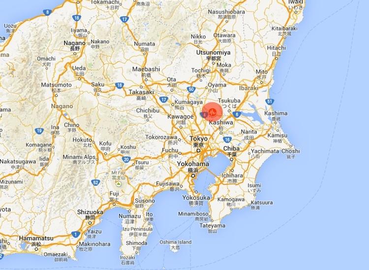Dagens skalv var en 5,6:a på Richter-skalan med epicentrum relativt nära Tokyo.. Dock inga rapporterade skador på vare sig människor eller material.
