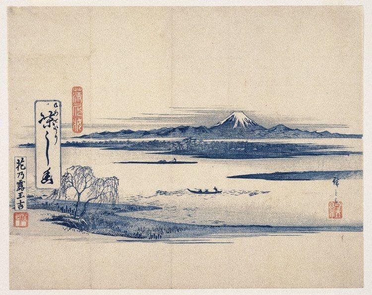 Berget Fuji är väl något man inte skulle vilja vara utan i Japan, men det platsar inte på denna 10-i-topp-lista. Det får istället tjäna som den symbol för landet som det är.  Bild: Tryck från första halvan av 1800-talet av den kände  ukiyoe -konstnärenUtagawa Hiroshige.