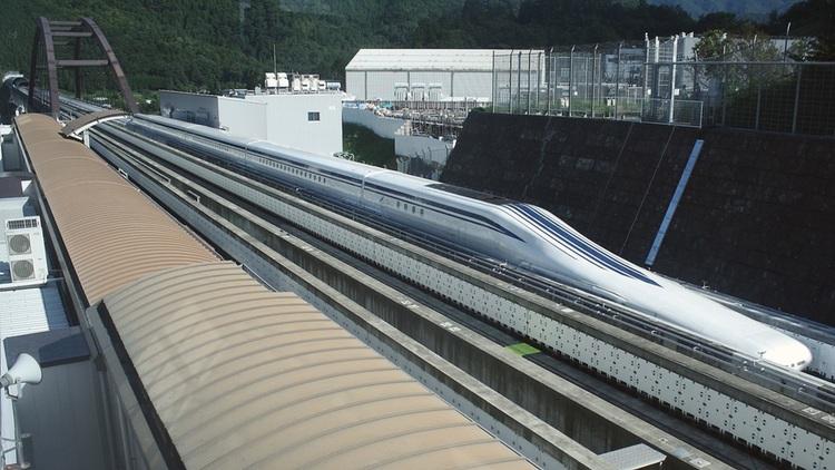 Ett extremt tåg för extrema farter - Japans Chuo Shinkansen har nu börjat byggas.  Foto: Saruno Hirobano - Creative Commons-licens