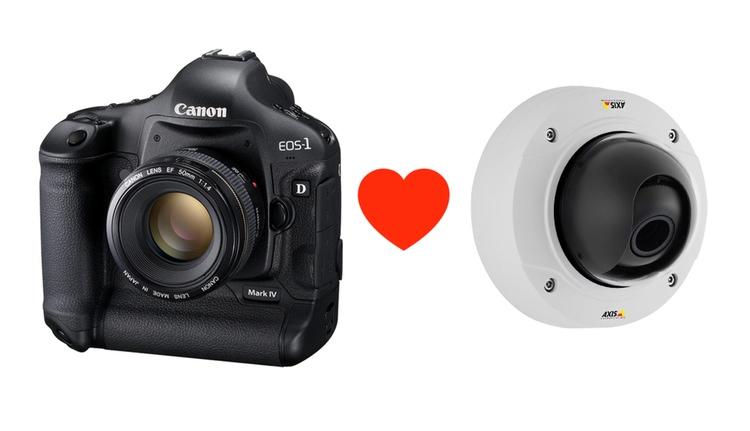 Canon köper svenska Axis - det blir nog en mycket bra kombination.