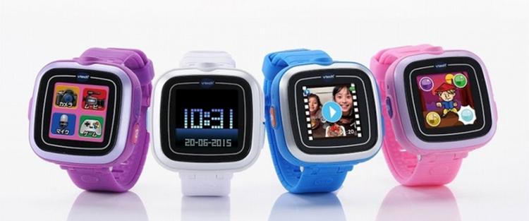 """Tomy lanserar marknadens billigaste """"smartwatch"""" - Play Watch.Tyvärr är den inte så smart. Foto: Takara Tomy"""