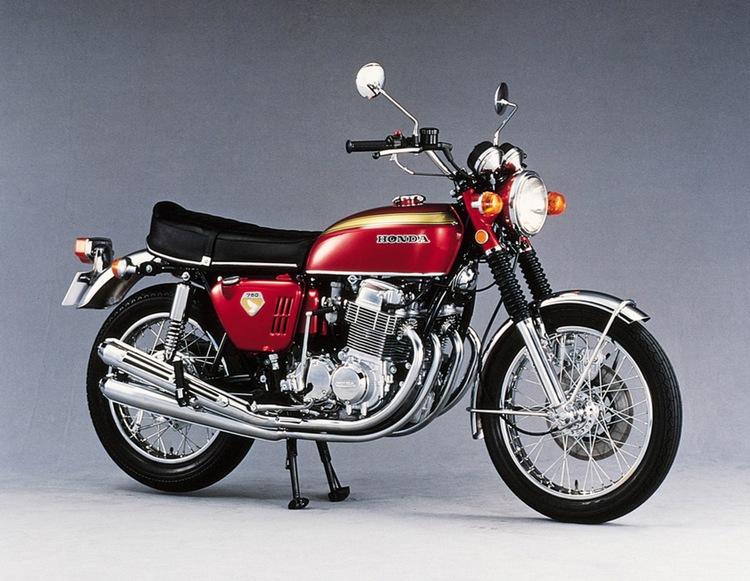 """Honda CB750 - den första """"super-hojen""""."""