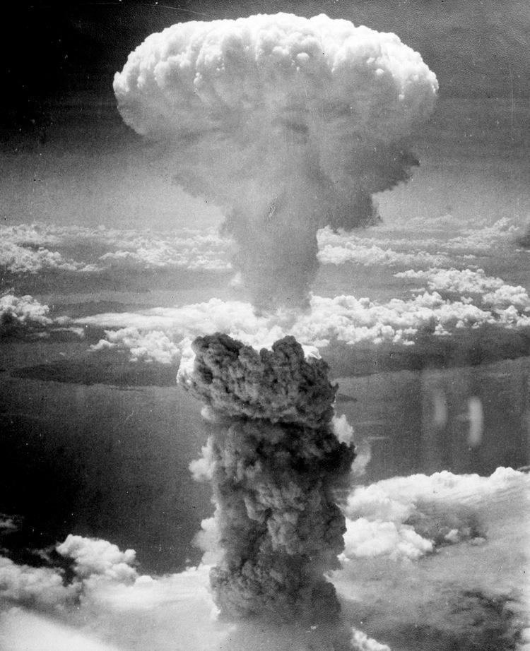 Ett av världens mest spridda fotografier visar bombsvampen över Hiroshima den 6:e augusti 1945.  Foto: Charles Levy, Creative Commons