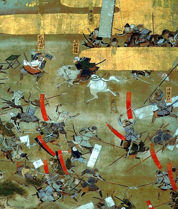 Japan har en mycket krigisk historia. Foto: Wikimedia Commons