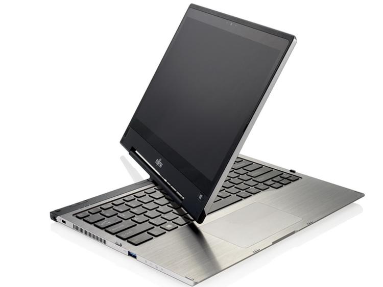En kombinerad bärbar dator och platta från Fujitsu.
