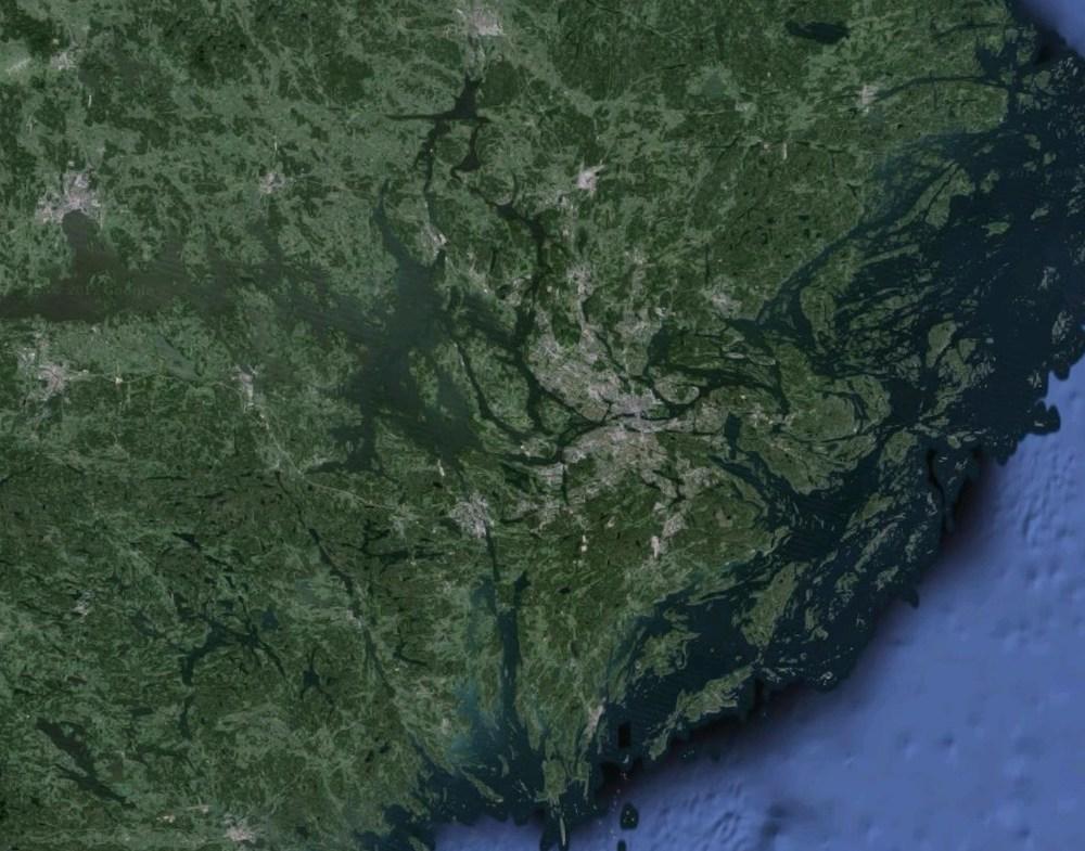 Hmm - var sa du att Stockholm låg någonstans?