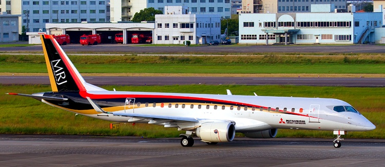 Mitsubishi Regional Jet börjar flyga i Europa under 2020.