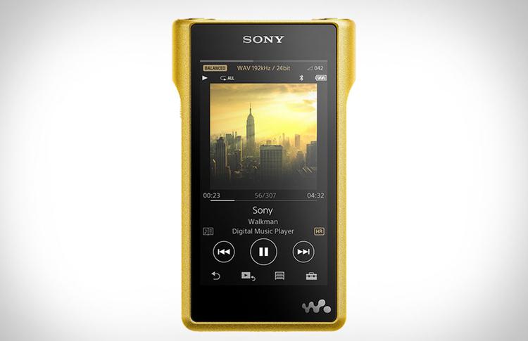 Världens hittills dyraste och säkerligen bästa portabla audiospelare: Sony Walkman NW-WM1Z Foto: Sony
