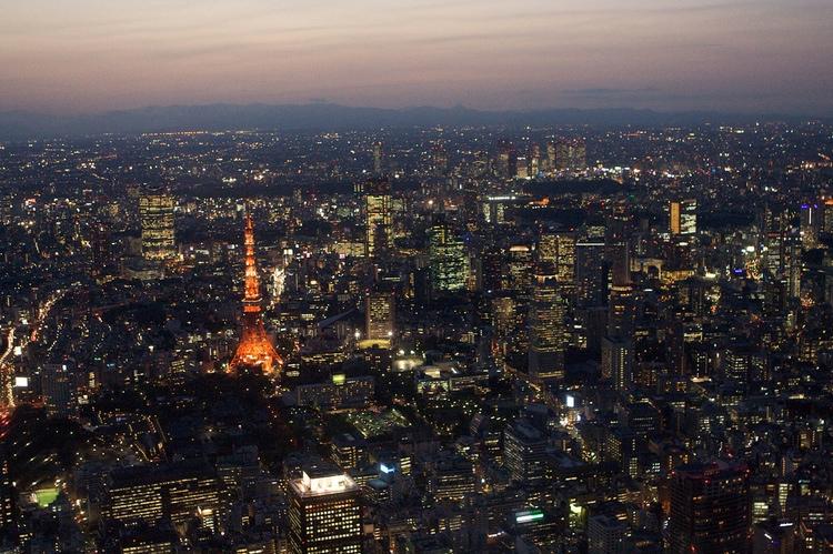 Tokyo är en mäktig upplevelse - inget man hinner avverka på en vecka.  Foto: Lukas (Creative Commons)