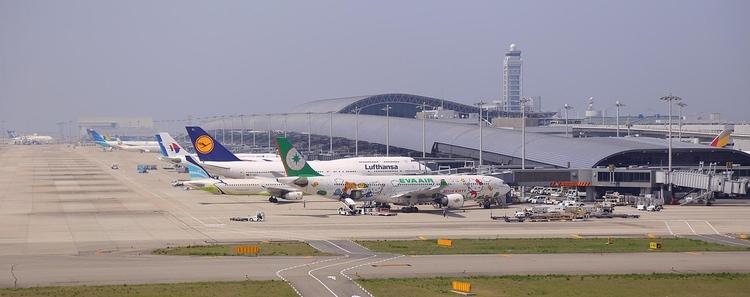 Kansai International Airport (KIX) är flygplatsen man anländer till om man flyger till Osaka från utlandet. Foto: CC0 Public Domain
