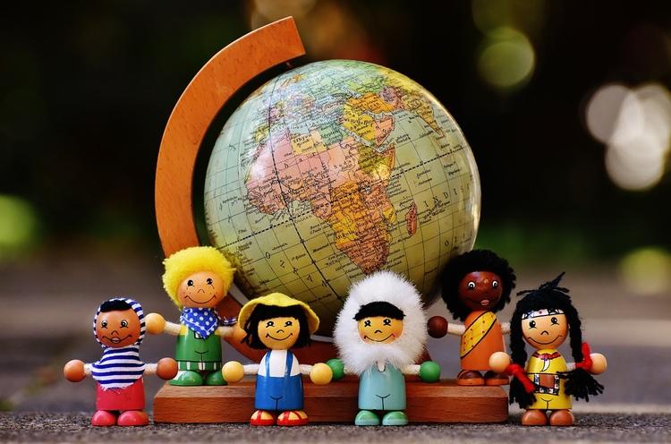 Bilden är lite missvisande, då den största delen utlänningar boende i Japan är andra asiater.