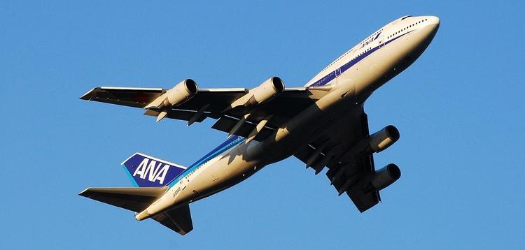 All Nippon Airways är ett genomtrevligt flygbolag. Önskar bara att de kunde flyga på Stockholm..  Foto: Public Domain