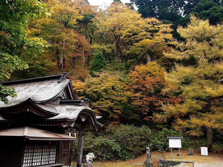 Ett litet tempel i Tottori, Japans minst befolkade prefektur.  Foto: Public Domain