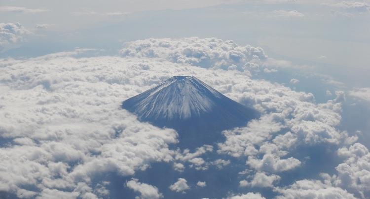 Tre prefekturer kan skryta med att ha Fuji inom sina gränser: Yamanashi, Shizuoka och Nagano.  Foto: Public Domain