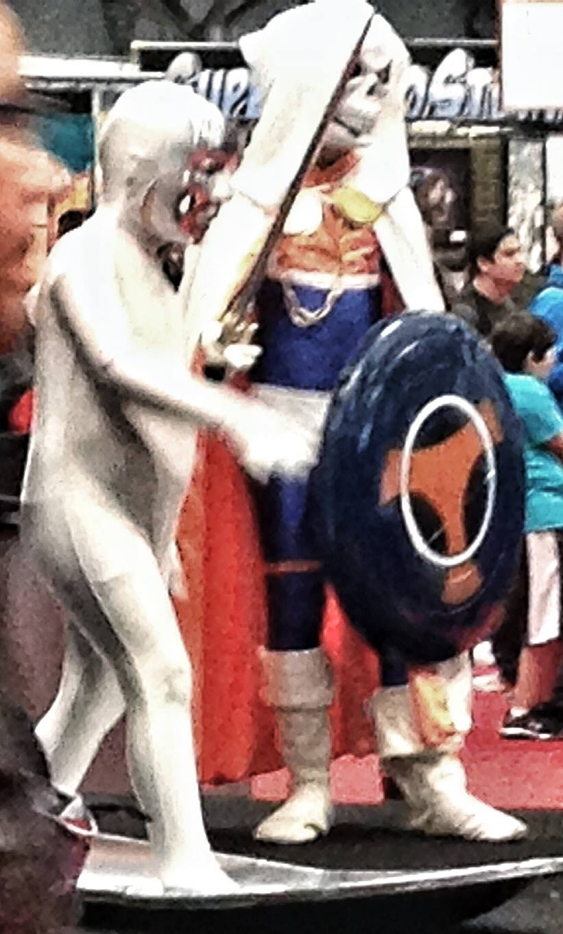 The littlest Silver Surfer and Taskmaster