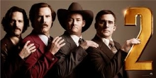 Yup, we saw Anchorman 2 The Legend Continues, or whatever it is called.....