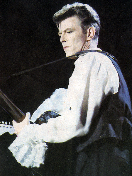 David Bowie in the Puffy Shirt