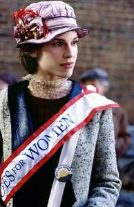Hilary Swank as Alice Paul.