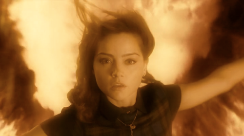 I'm Clara Oswald. I'm the impossible girl. I was born to save the Doctor.