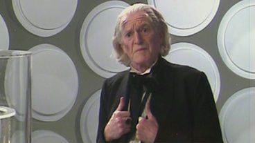 David Bradley reenacts William Hartnell's classic farewell to Susan.