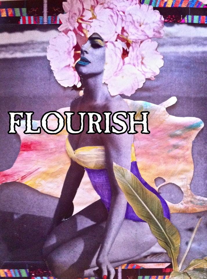 AVEDA 'FLOURISH'™ poster contest entry